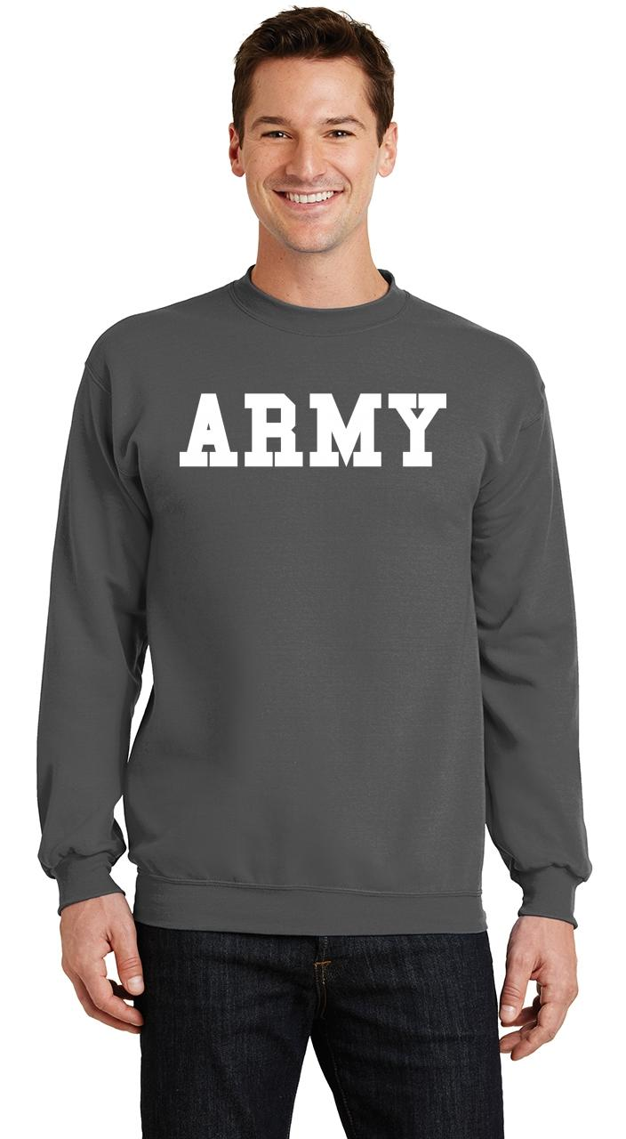 Mens Army Sweatshirt Military Usa American Price Soldier Sweater