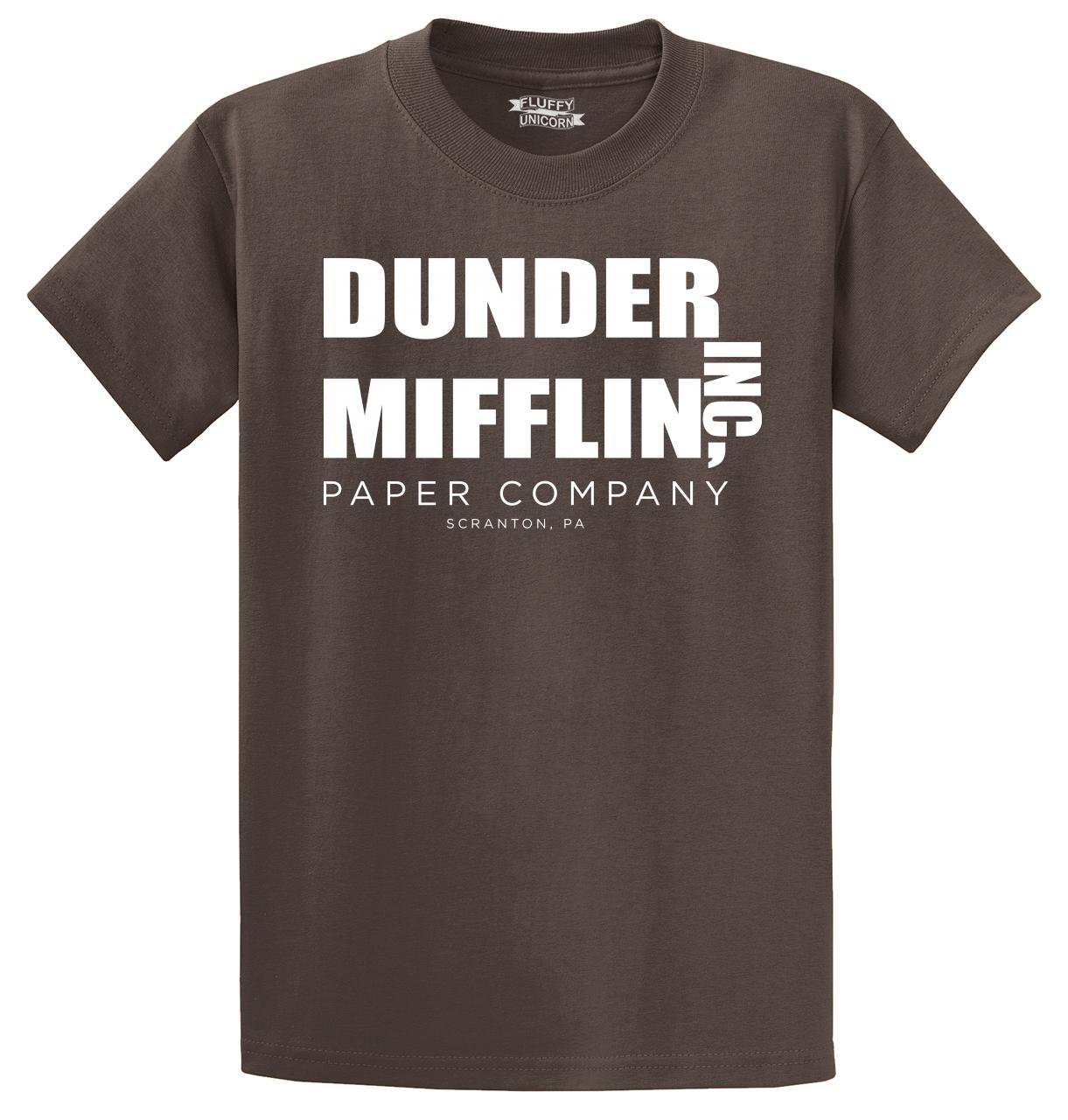 Dunder-Mifflin-Inc-A-Paper-Company-Funny-T-Shirt-TV-Show-Holiday-Gift-Tee-Shirt thumbnail 23