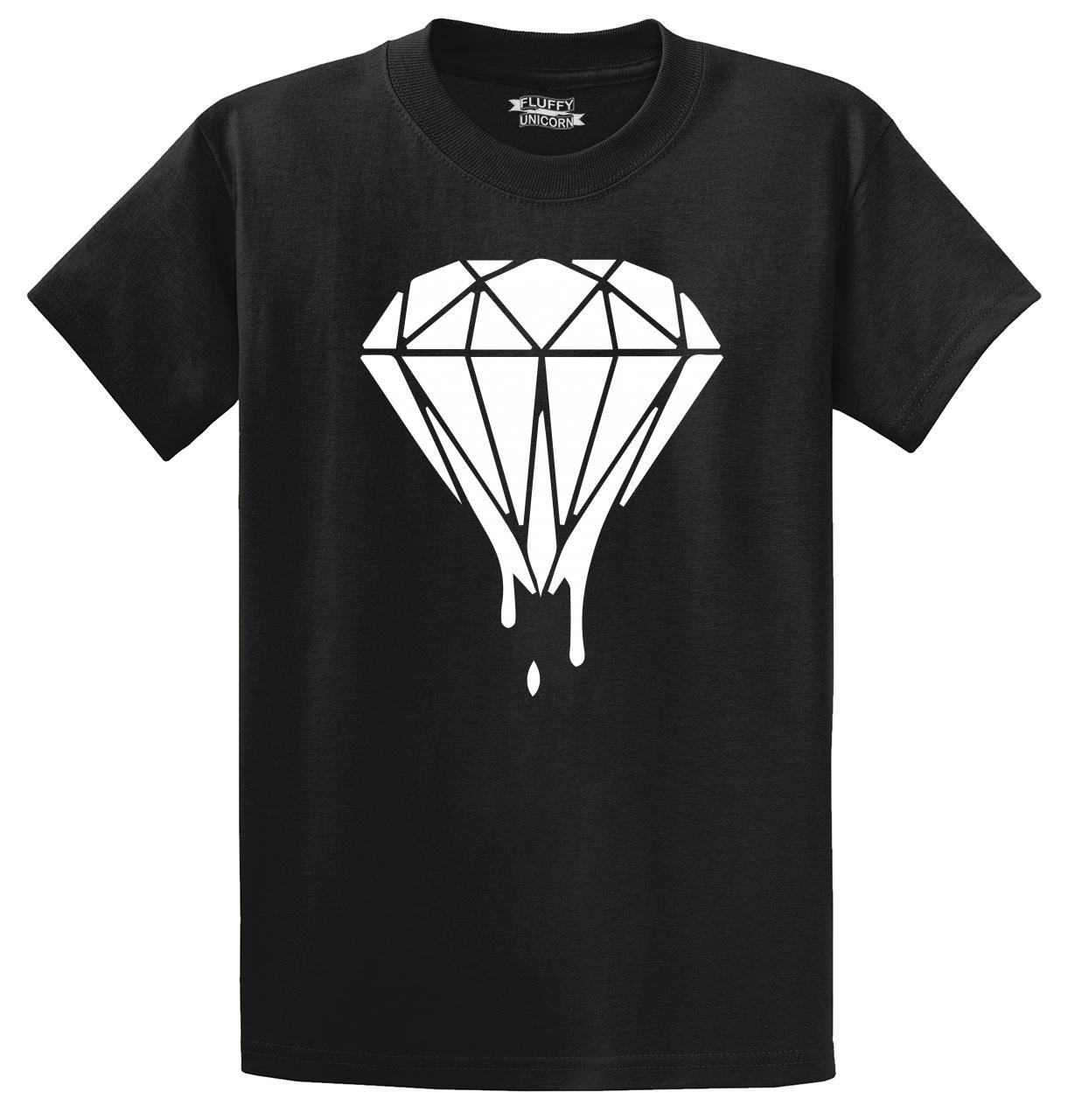 Drippin Diamond: Dripping Diamond T Shirt Music Hipster Criminal Gangster