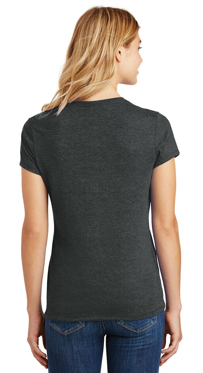 Ladies-Love-Om-Tri-Blend-Tee-Yoga-Peace-Calm-Shirt thumbnail 7