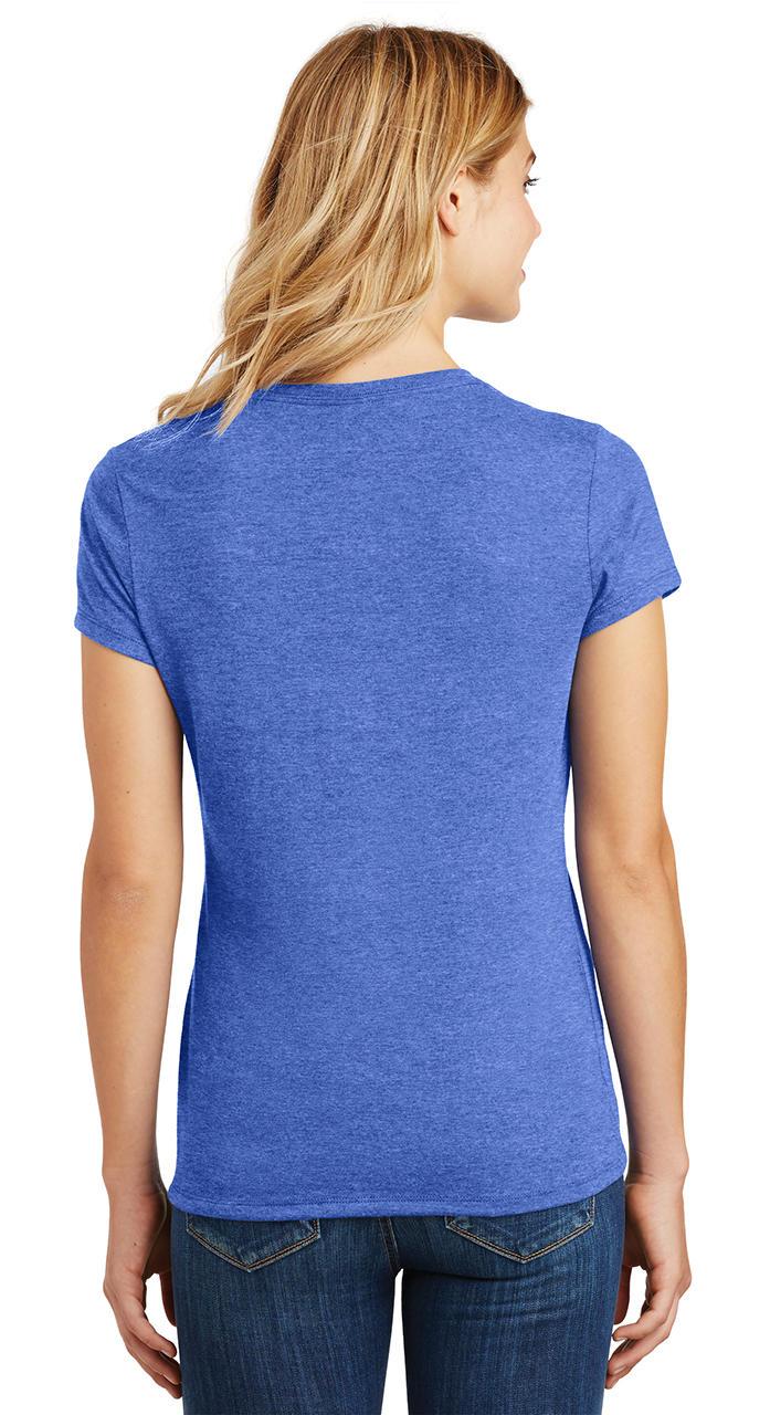 Ladies-Love-Om-Tri-Blend-Tee-Yoga-Peace-Calm-Shirt thumbnail 31