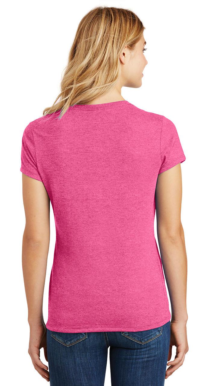 Ladies-Love-Om-Tri-Blend-Tee-Yoga-Peace-Calm-Shirt thumbnail 10