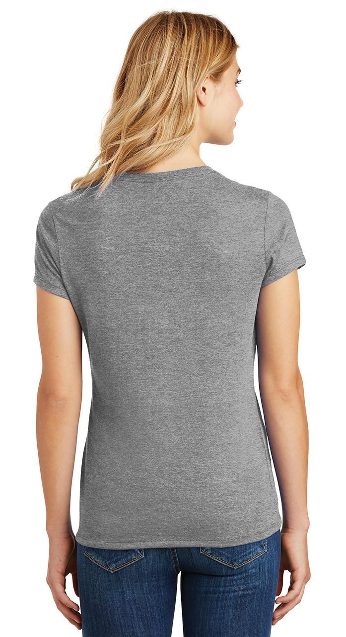Ladies-Love-Om-Tri-Blend-Tee-Yoga-Peace-Calm-Shirt thumbnail 16