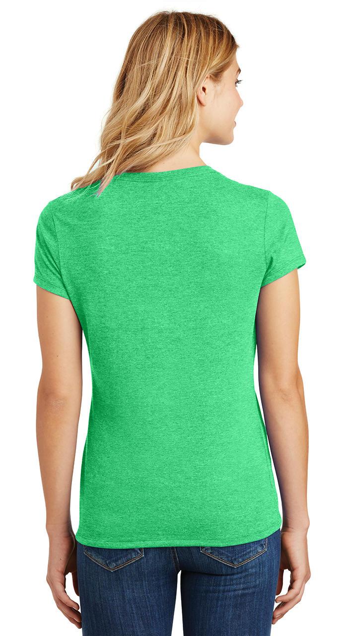 Ladies-Love-Om-Tri-Blend-Tee-Yoga-Peace-Calm-Shirt thumbnail 13