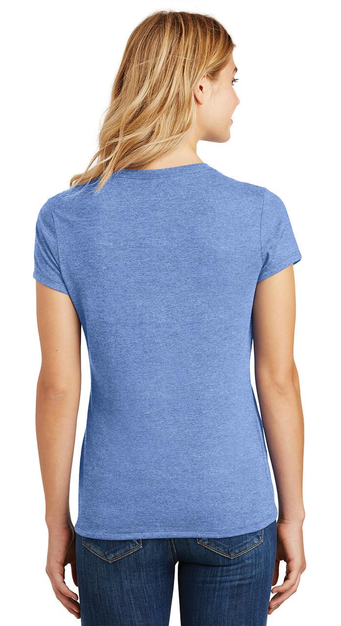 Ladies-Love-Om-Tri-Blend-Tee-Yoga-Peace-Calm-Shirt thumbnail 19
