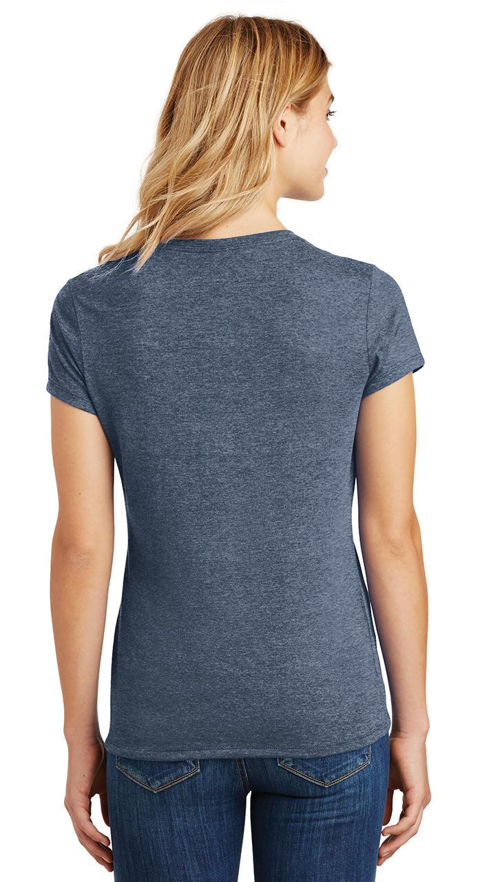 Ladies-Love-Om-Tri-Blend-Tee-Yoga-Peace-Calm-Shirt thumbnail 22