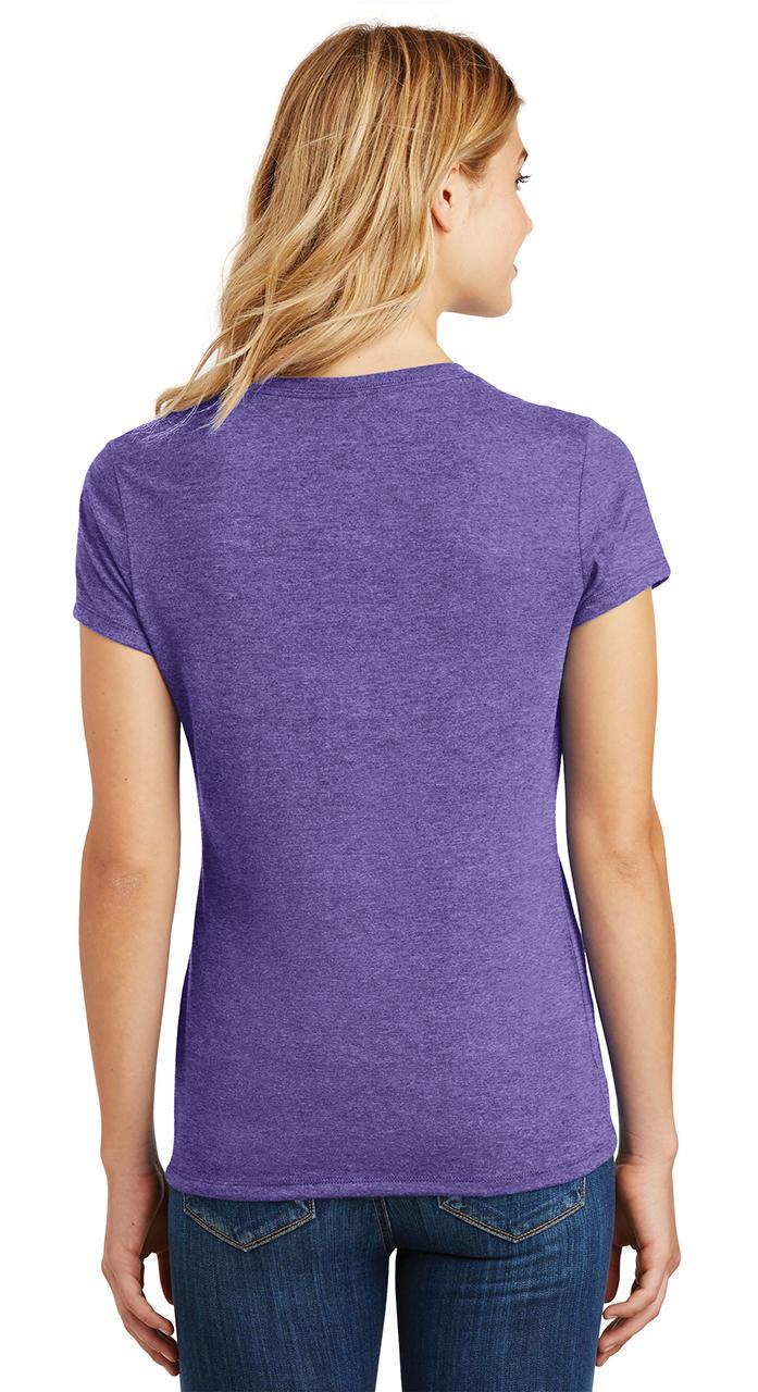 Ladies-Love-Om-Tri-Blend-Tee-Yoga-Peace-Calm-Shirt thumbnail 25