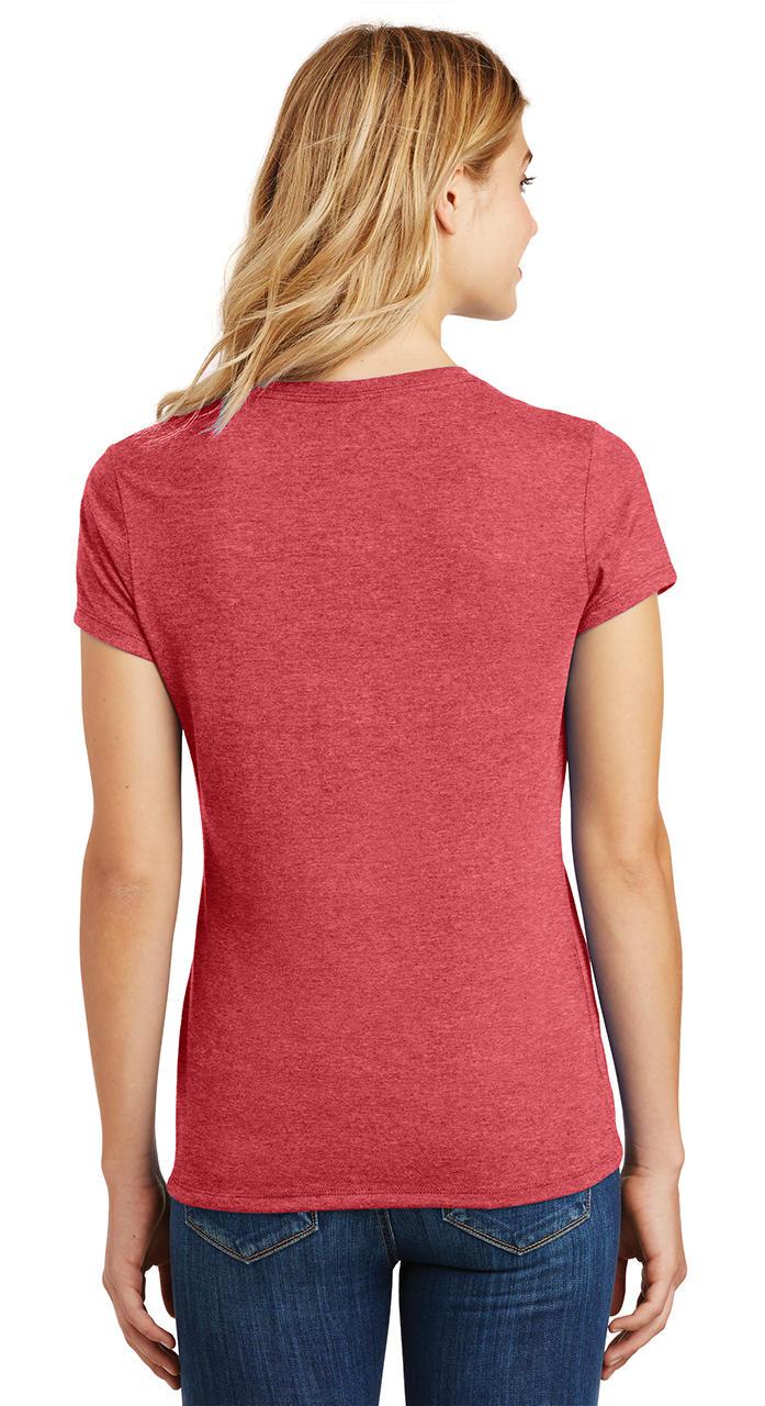 Ladies-Love-Om-Tri-Blend-Tee-Yoga-Peace-Calm-Shirt thumbnail 28
