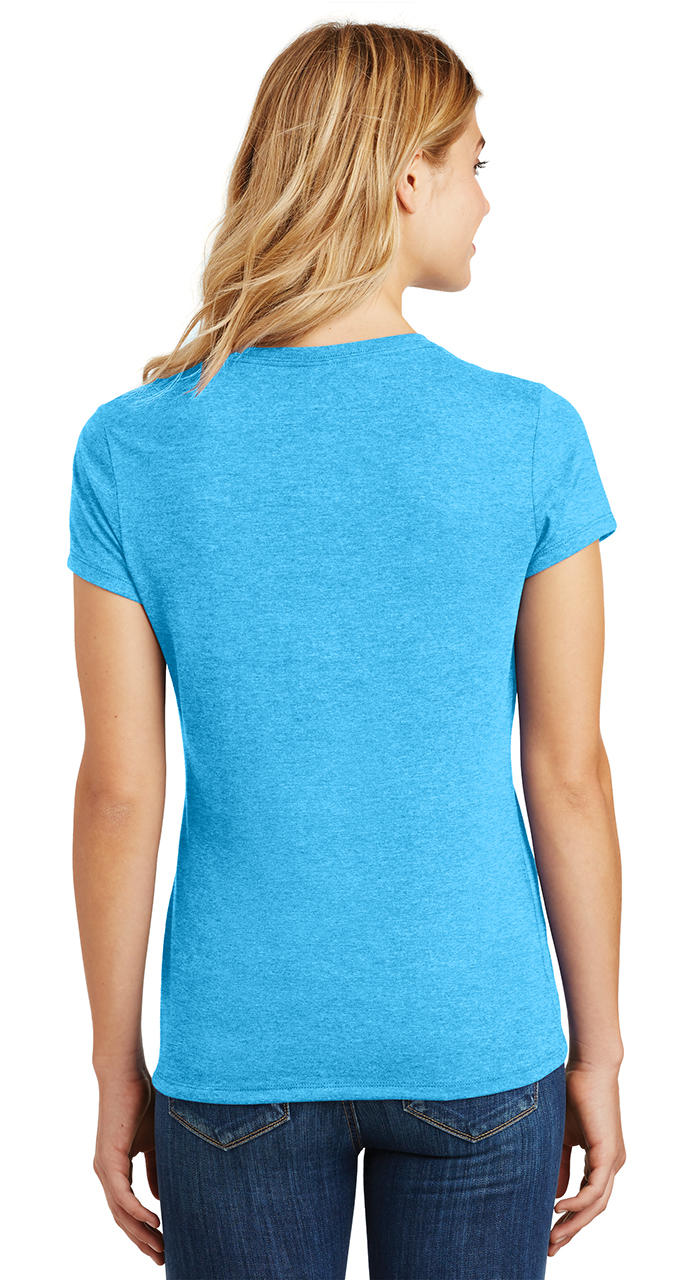 Ladies-Love-Om-Tri-Blend-Tee-Yoga-Peace-Calm-Shirt thumbnail 34