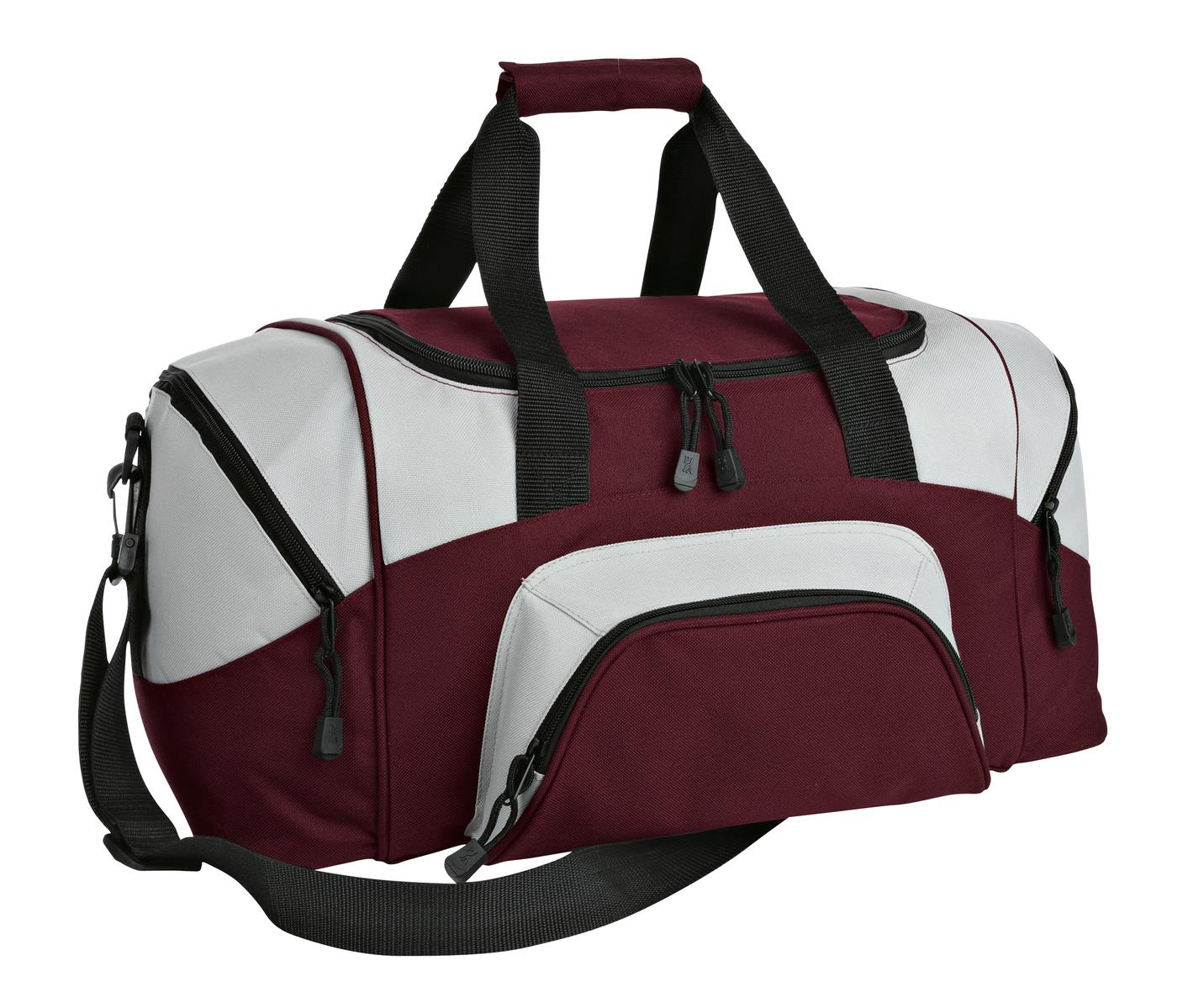 Port Authority Small Sport Duffel Bag Overnight Baseball