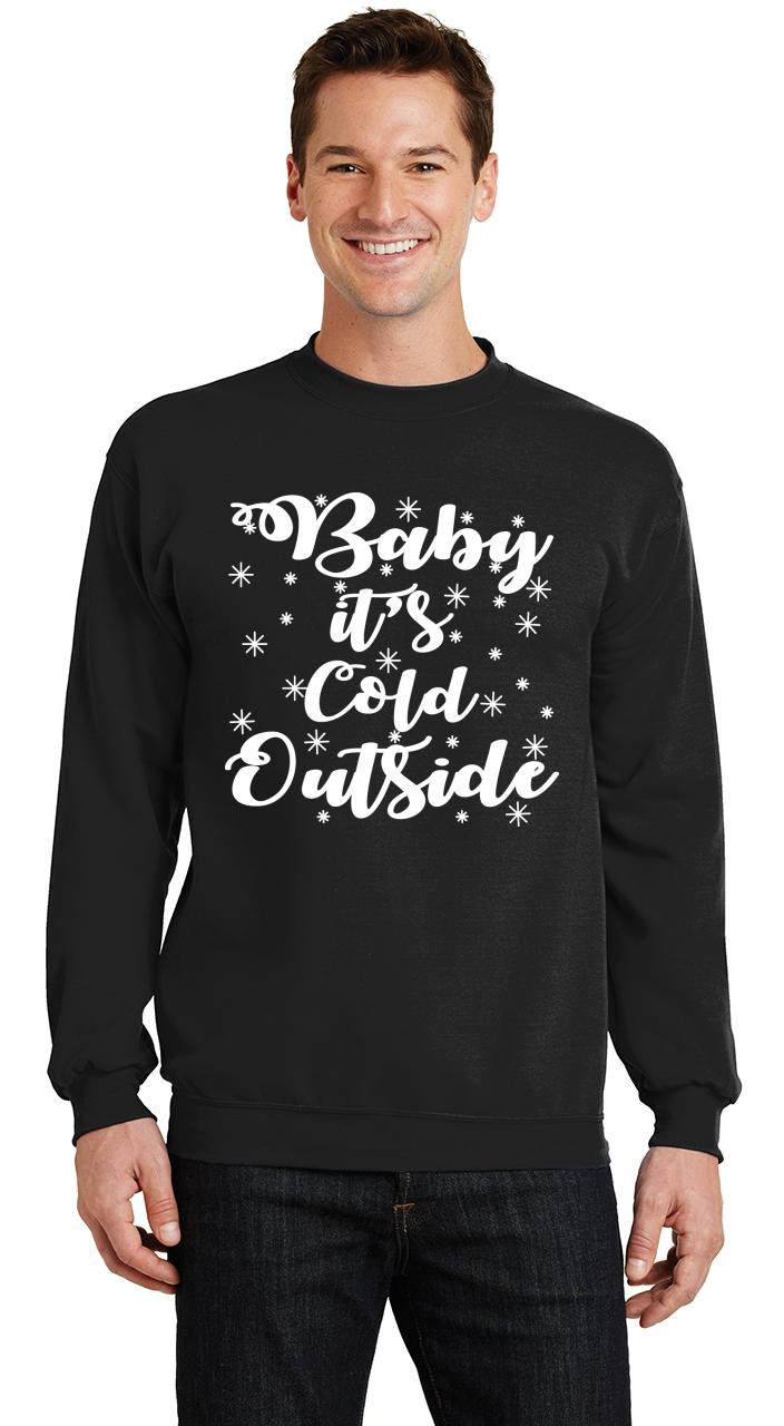 Hoody christmas HOODIE I/'m cold BABY IT/'S COLD OUTSIDE xmas Jumper funny