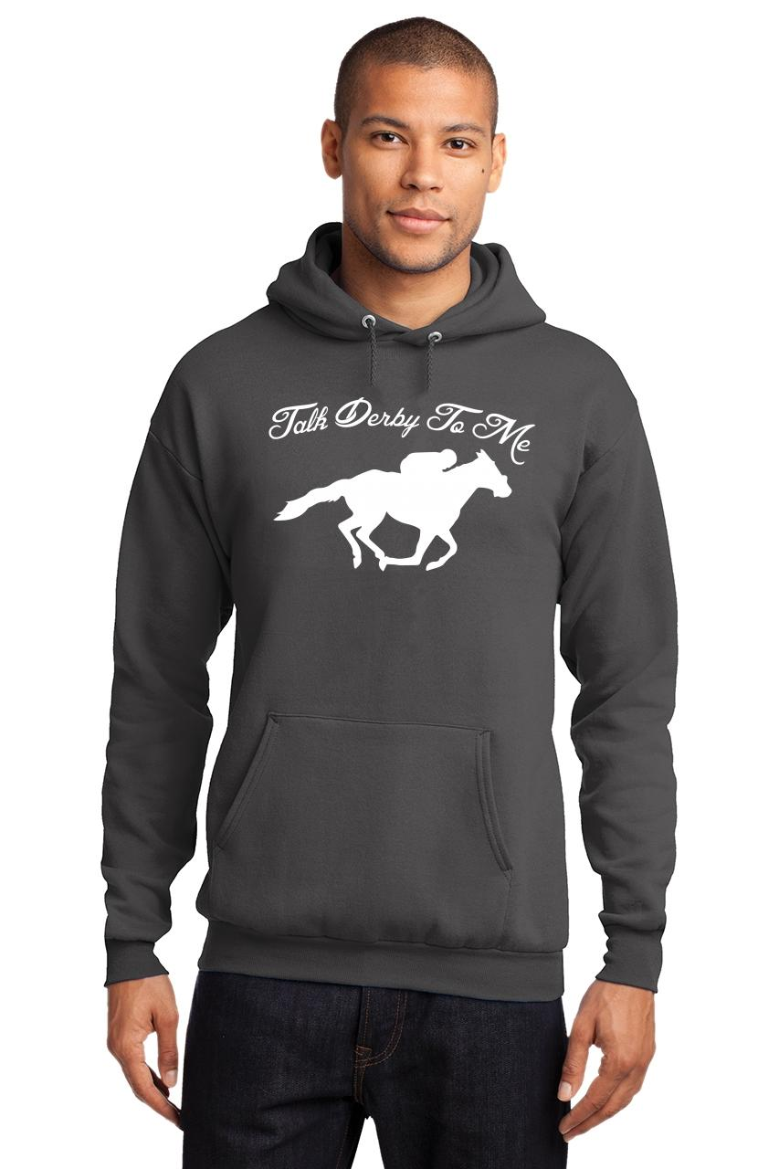 Mens-Talk-Derby-Me-Funny-Horse-Race-Kentucky-Derby-Shirt-Hoodie-Races-Gambler thumbnail 10