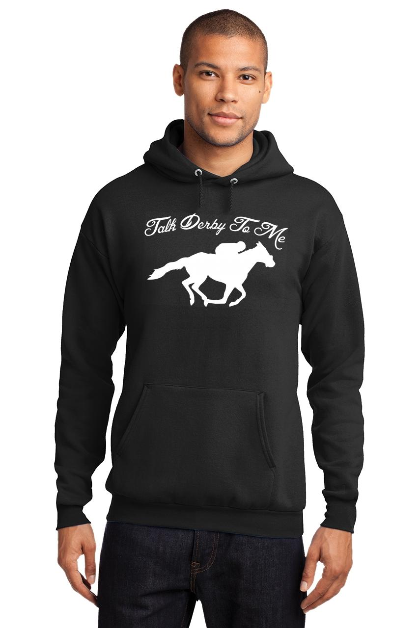 Mens-Talk-Derby-Me-Funny-Horse-Race-Kentucky-Derby-Shirt-Hoodie-Races-Gambler thumbnail 6
