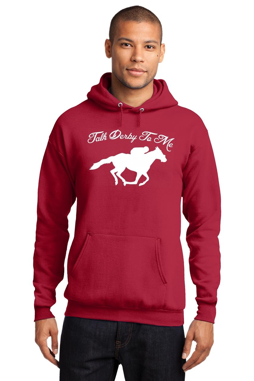Mens-Talk-Derby-Me-Funny-Horse-Race-Kentucky-Derby-Shirt-Hoodie-Races-Gambler thumbnail 26