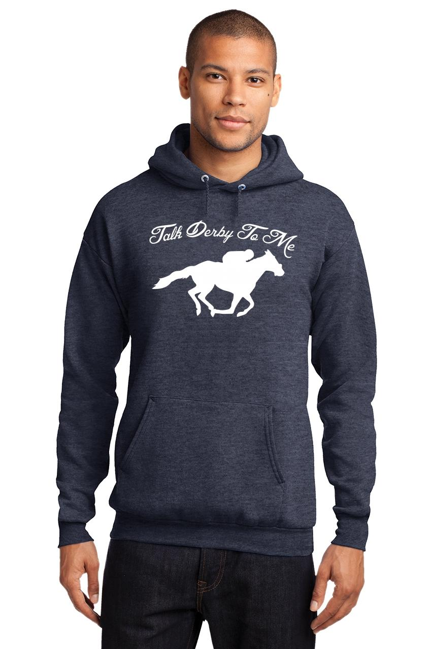 Mens-Talk-Derby-Me-Funny-Horse-Race-Kentucky-Derby-Shirt-Hoodie-Races-Gambler thumbnail 18