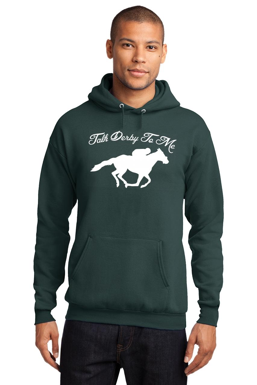 Mens-Talk-Derby-Me-Funny-Horse-Race-Kentucky-Derby-Shirt-Hoodie-Races-Gambler thumbnail 14