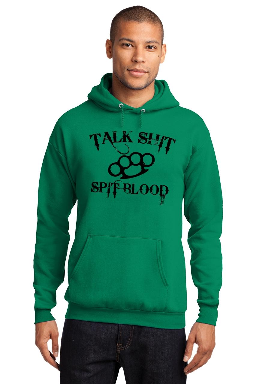 Mens-Talk-S-t-Spit-Blood-Hoodie-Gangster-Rap-Music-Movie-Sweatshirt thumbnail 16