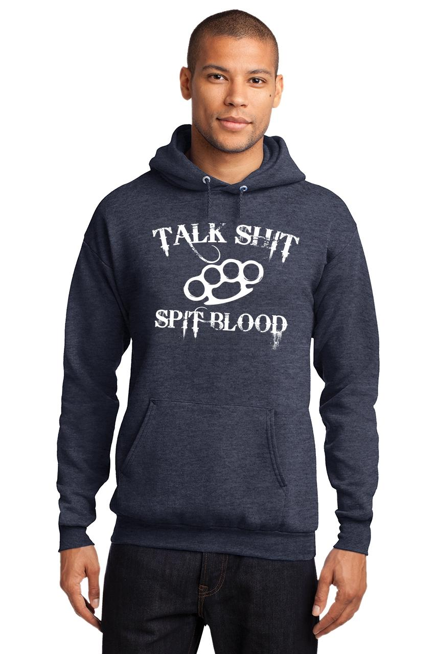 Mens-Talk-S-t-Spit-Blood-Hoodie-Gangster-Rap-Music-Movie-Sweatshirt thumbnail 13