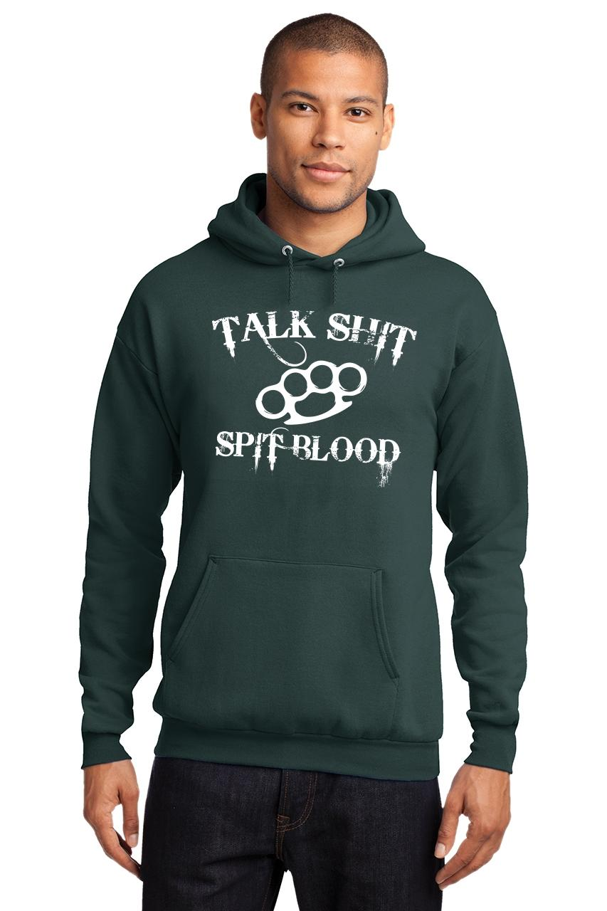 Mens-Talk-S-t-Spit-Blood-Hoodie-Gangster-Rap-Music-Movie-Sweatshirt thumbnail 10