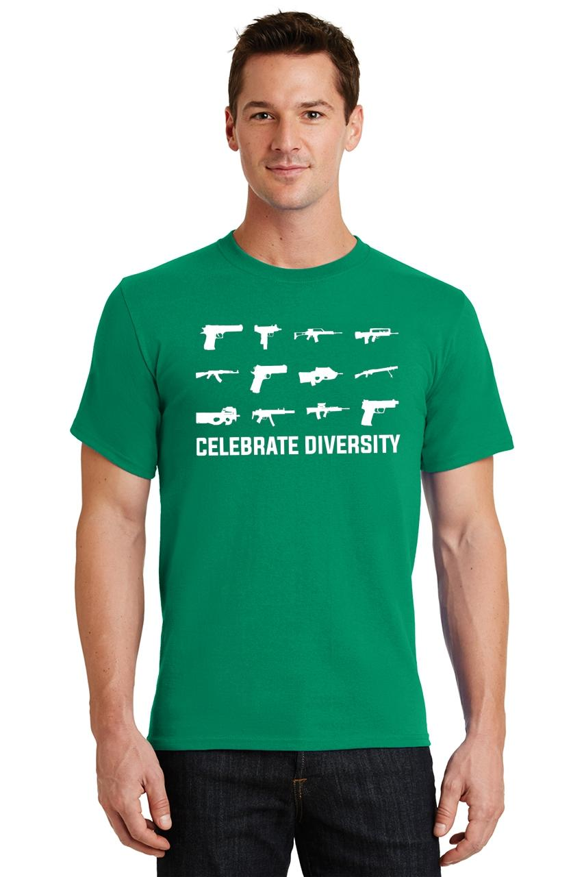 Celebrate-Diversity-Funny-Gun-Rights-T-Shirt-2nd-Amendment-Hunting-Tee thumbnail 30