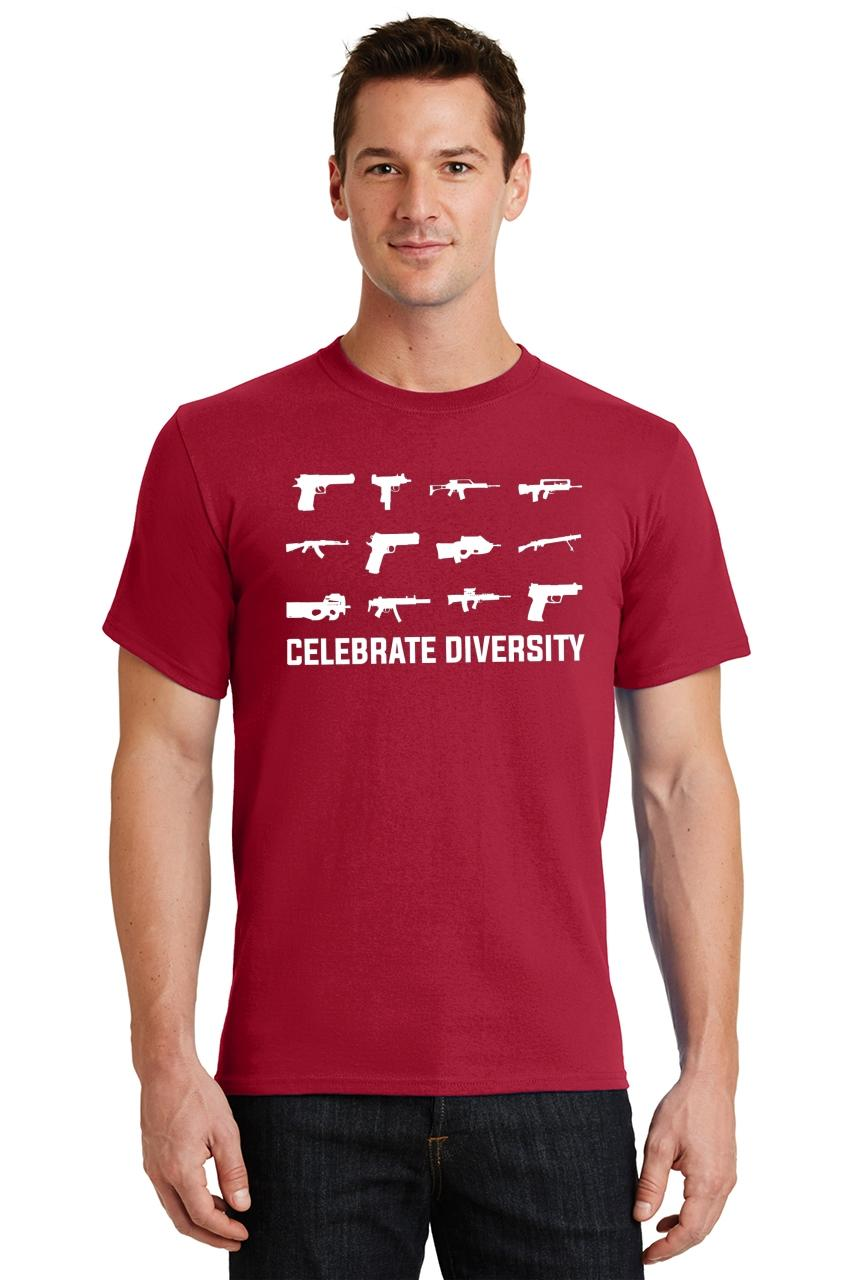 Celebrate-Diversity-Funny-Gun-Rights-T-Shirt-2nd-Amendment-Hunting-Tee thumbnail 24