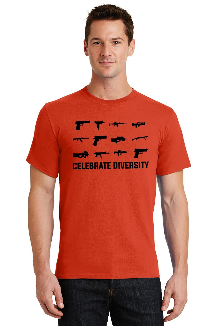 Celebrate-Diversity-Funny-Gun-Rights-T-Shirt-2nd-Amendment-Hunting-Tee thumbnail 42