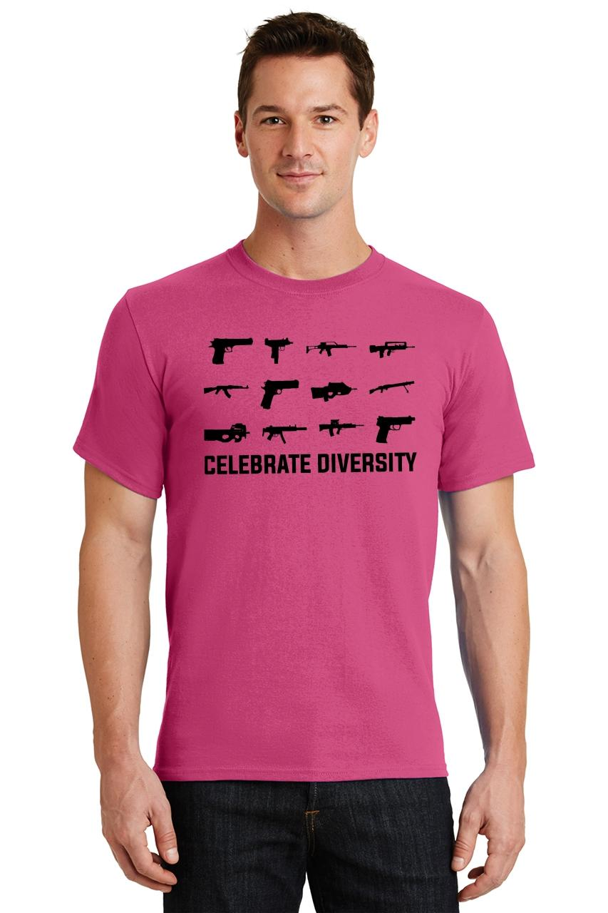 Celebrate-Diversity-Funny-Gun-Rights-T-Shirt-2nd-Amendment-Hunting-Tee thumbnail 48