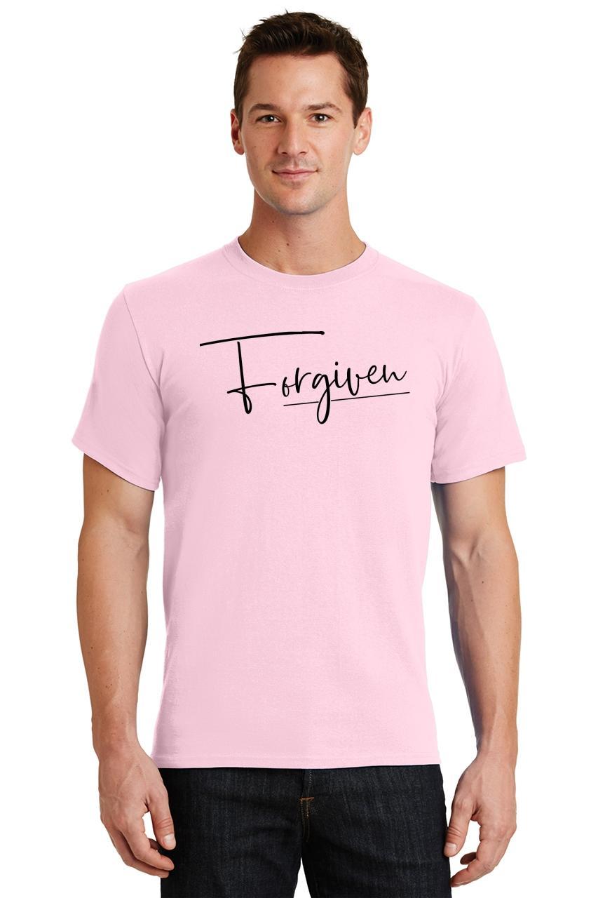 Mens-Forgiven-T-Shirt-Religious-Jesus-Christian-Shirt thumbnail 21