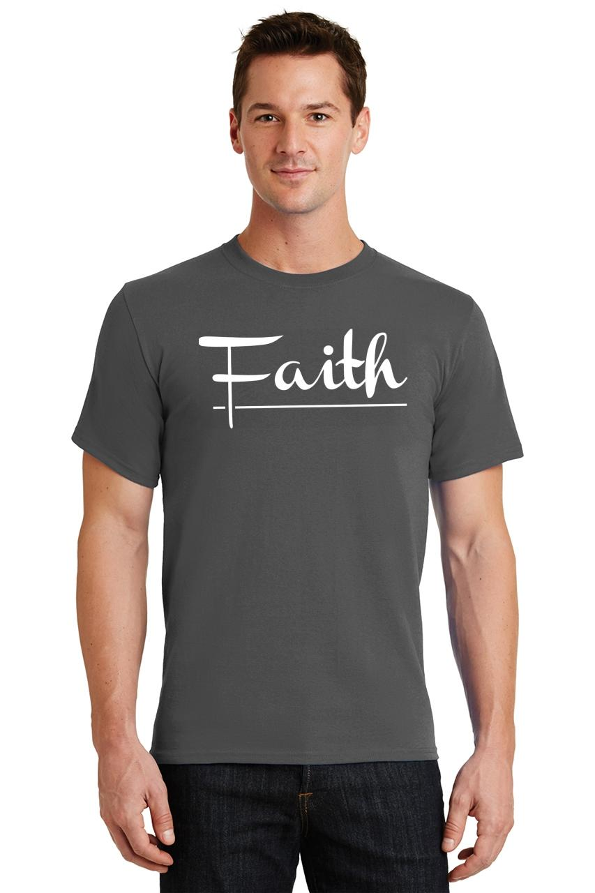 Mens-Faith-T-Shirt-Religious-Christian-God-Shirt thumbnail 13