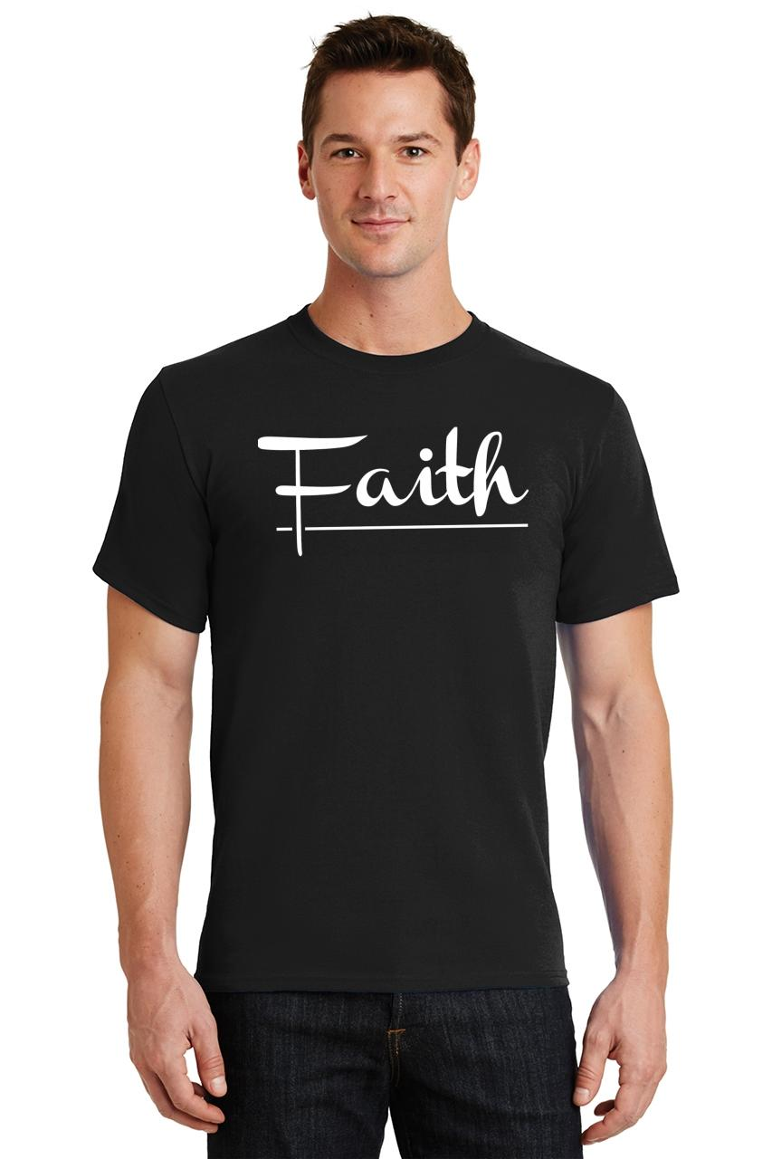 Mens-Faith-T-Shirt-Religious-Christian-God-Shirt thumbnail 7