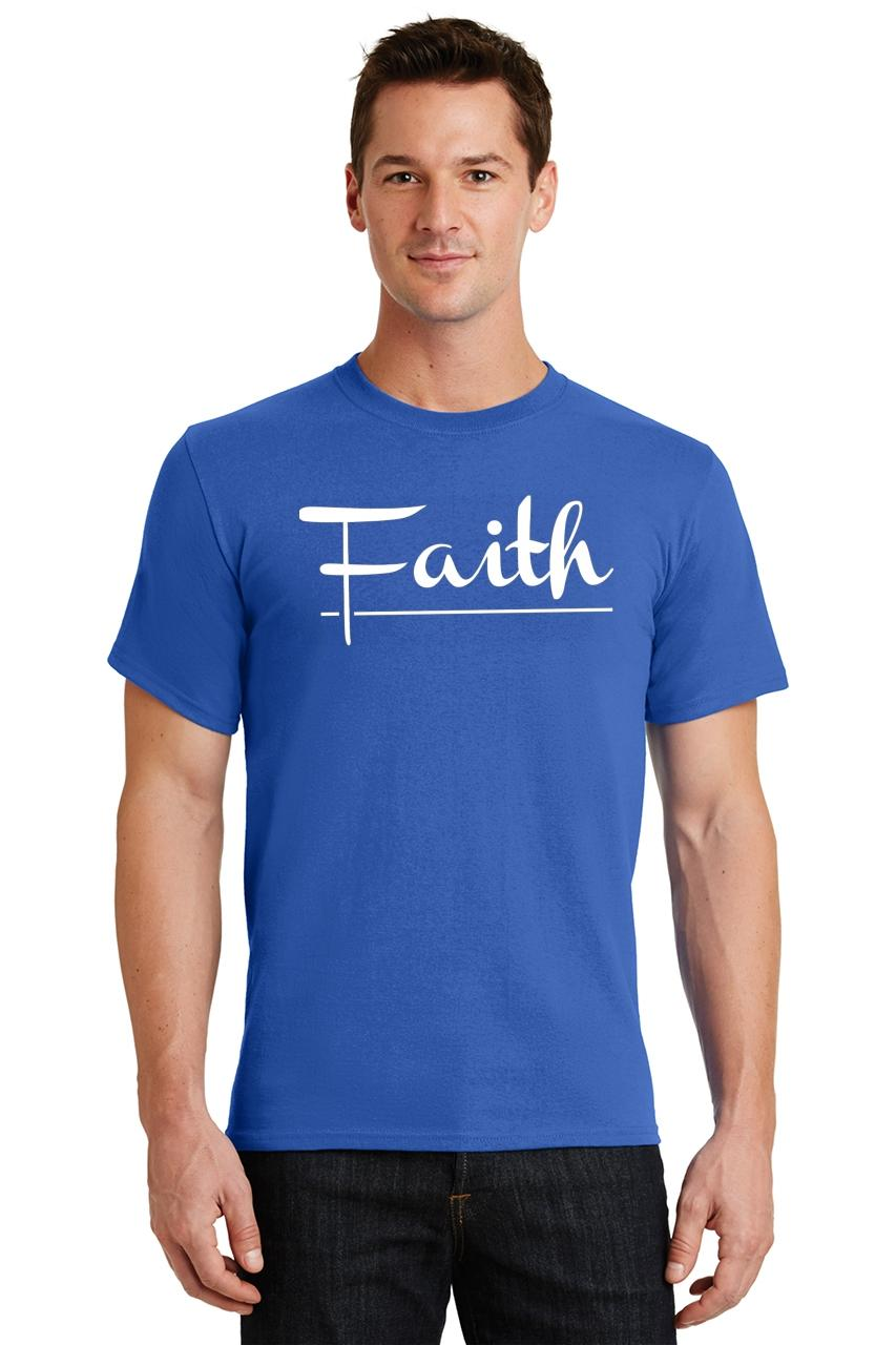 Mens-Faith-T-Shirt-Religious-Christian-God-Shirt thumbnail 40
