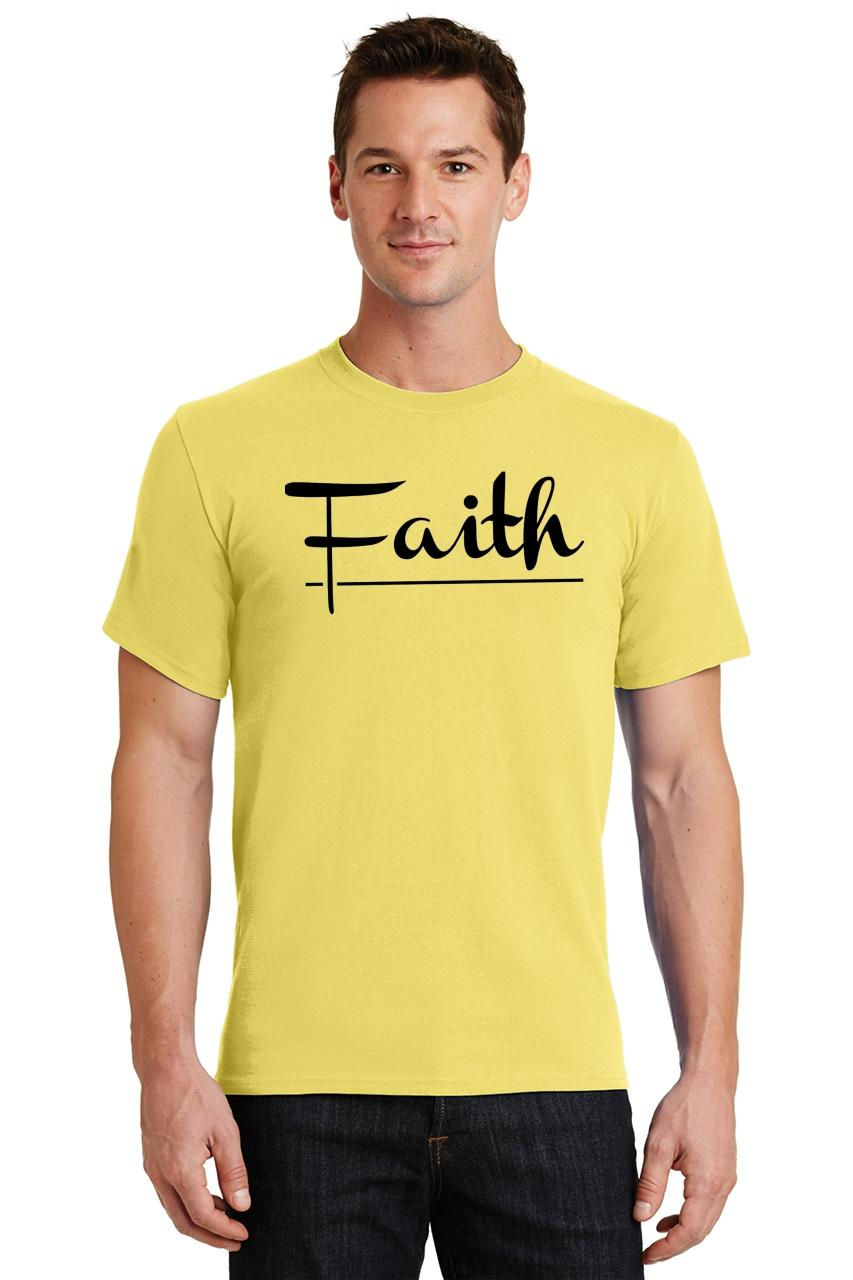 Mens-Faith-T-Shirt-Religious-Christian-God-Shirt thumbnail 49
