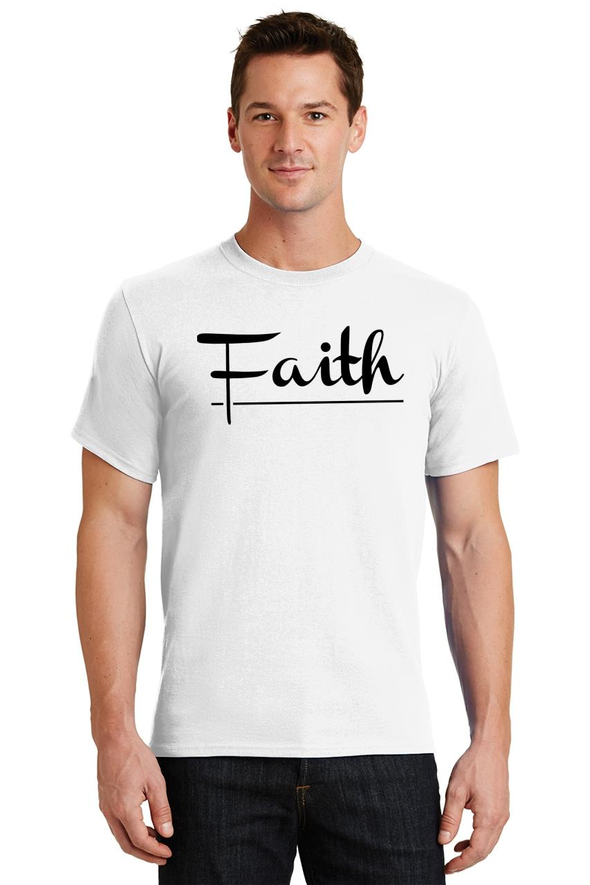 Mens-Faith-T-Shirt-Religious-Christian-God-Shirt thumbnail 46