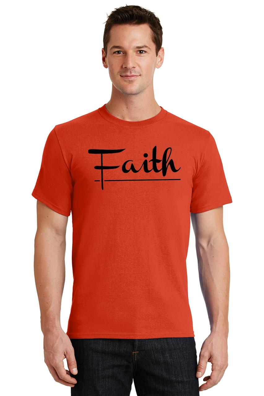 Mens-Faith-T-Shirt-Religious-Christian-God-Shirt thumbnail 28