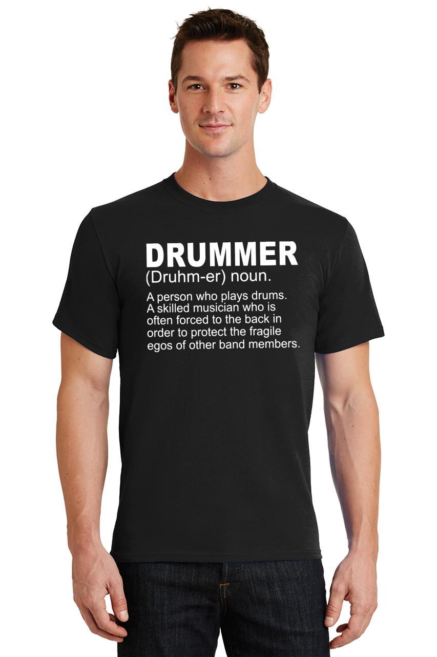 Mens-Drummer-A-Skilled-Musician-T-Shirt-Band miniatura 10