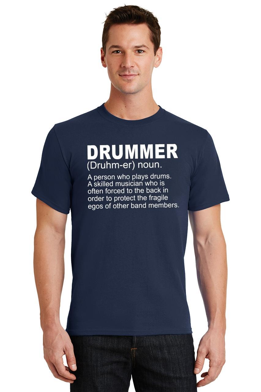 Mens-Drummer-A-Skilled-Musician-T-Shirt-Band miniatura 30