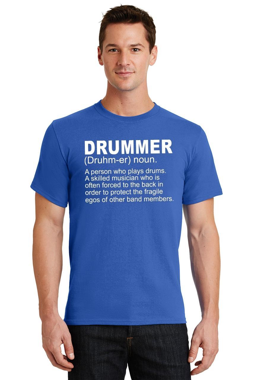 Mens-Drummer-A-Skilled-Musician-T-Shirt-Band miniatura 54