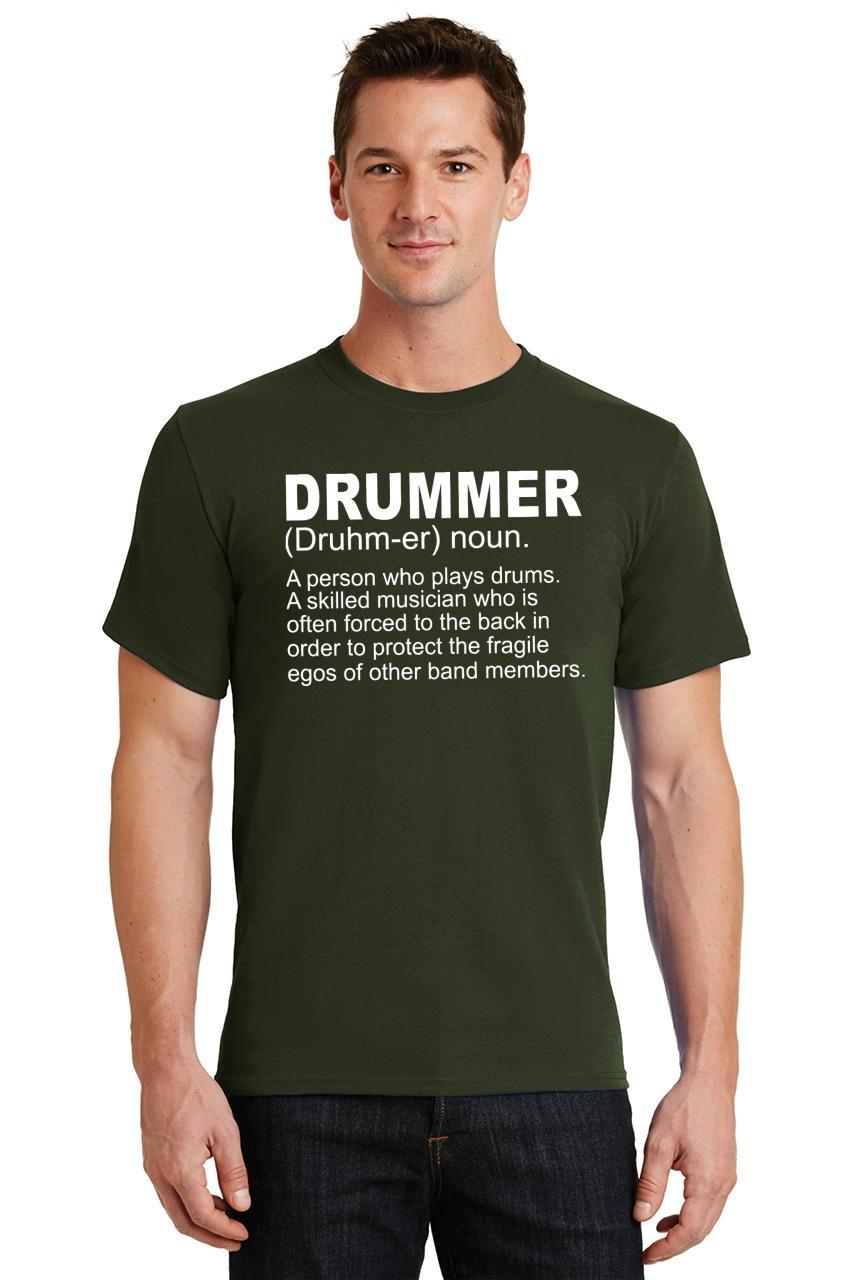 Mens-Drummer-A-Skilled-Musician-T-Shirt-Band miniatura 34