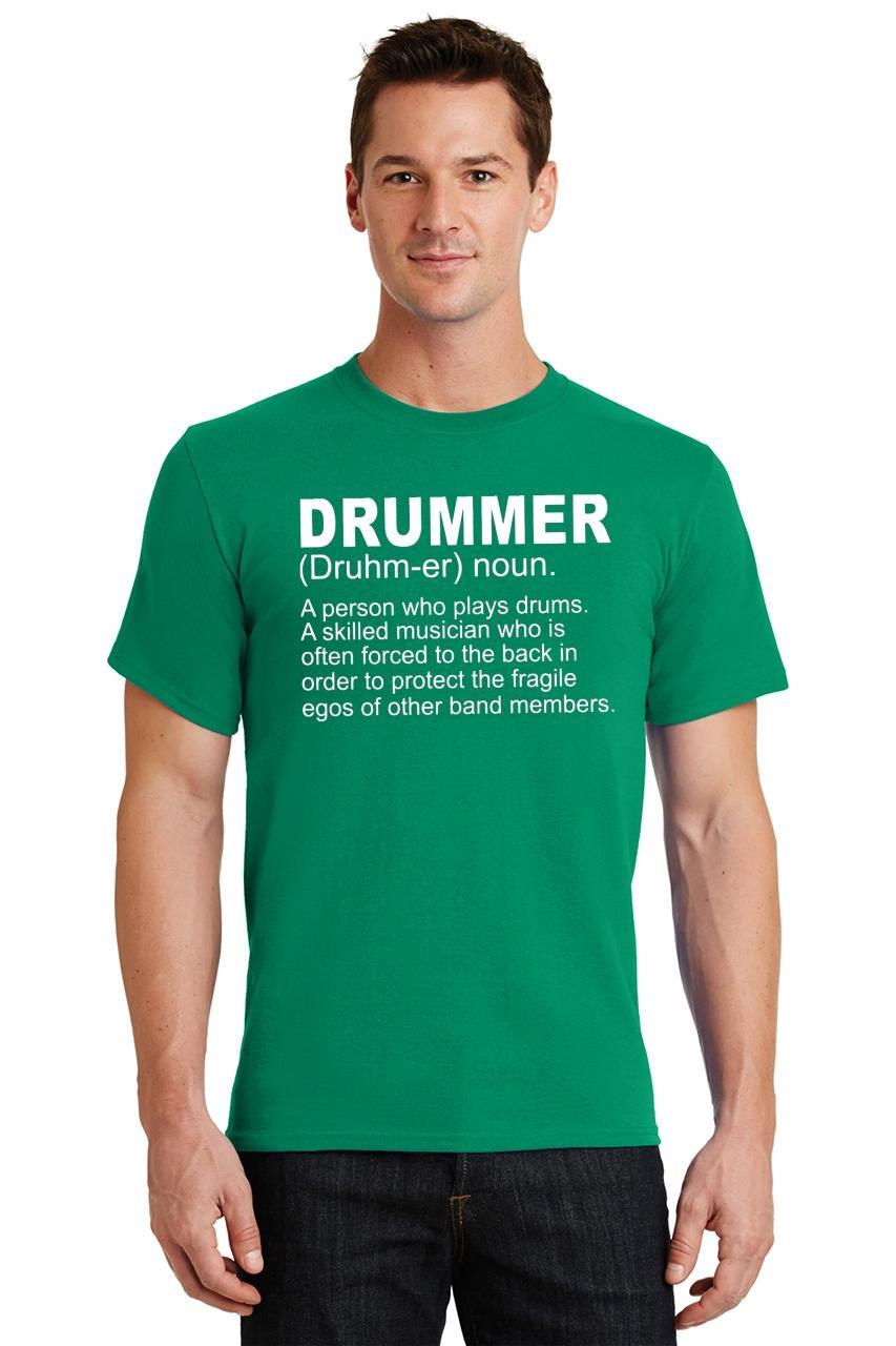Mens-Drummer-A-Skilled-Musician-T-Shirt-Band miniatura 22
