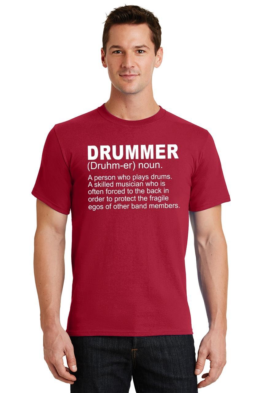 Mens-Drummer-A-Skilled-Musician-T-Shirt-Band miniatura 50