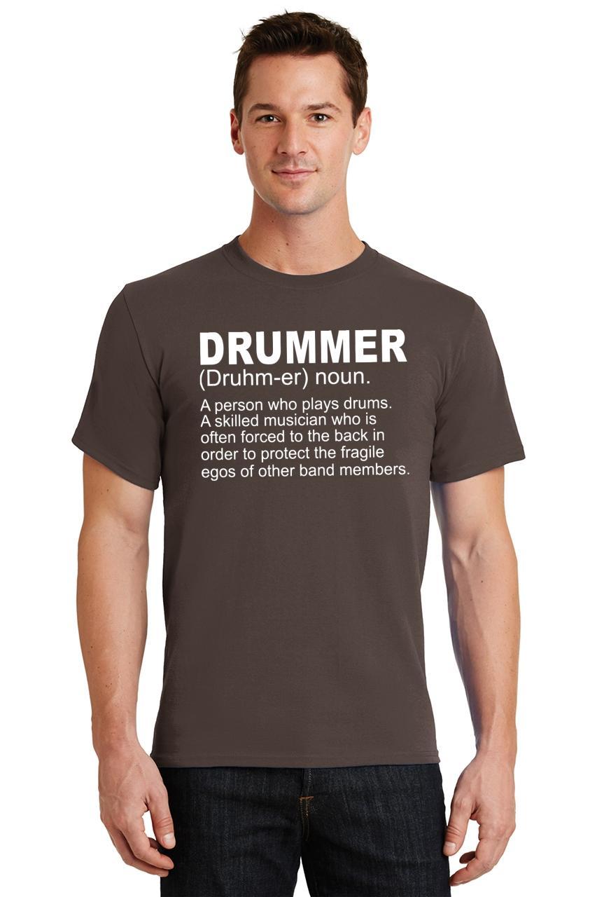 Mens-Drummer-A-Skilled-Musician-T-Shirt-Band miniatura 14