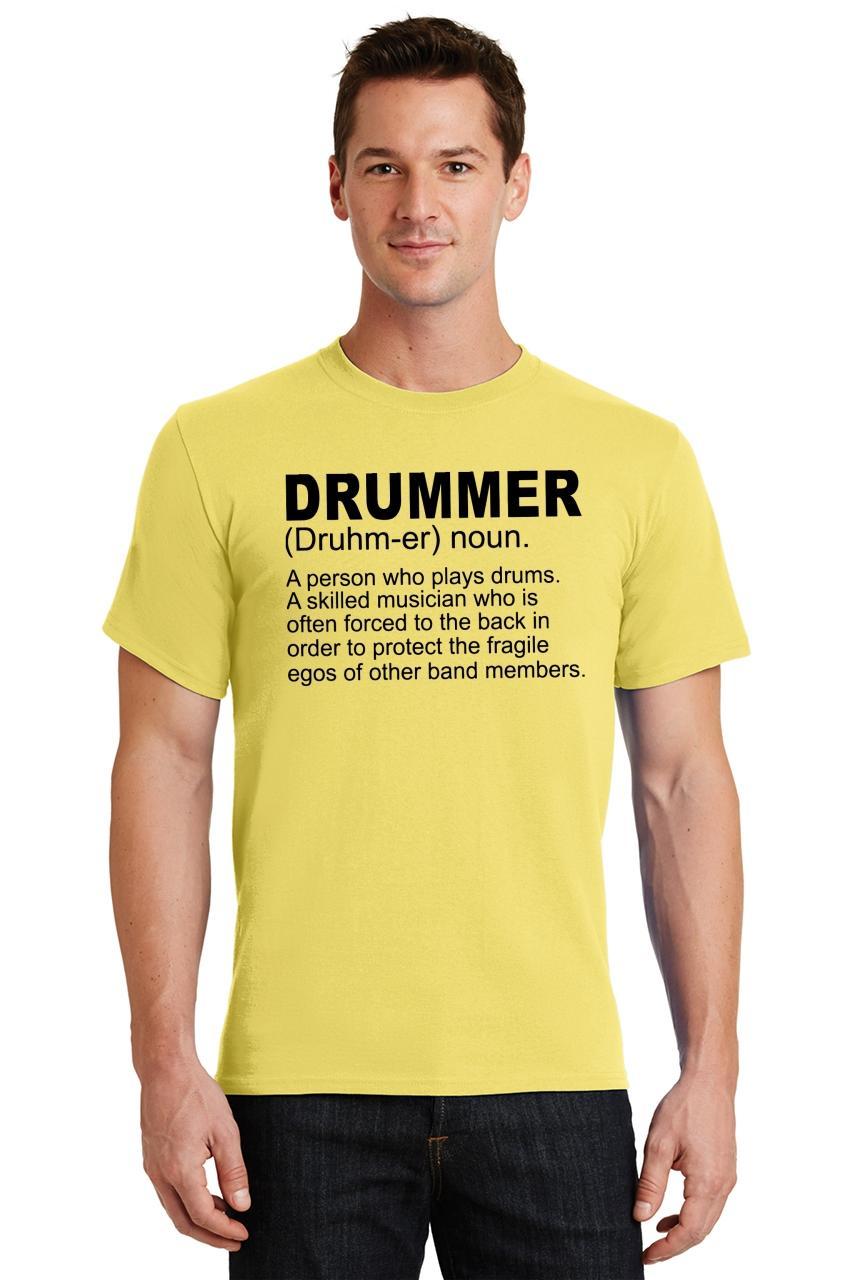 Mens-Drummer-A-Skilled-Musician-T-Shirt-Band miniatura 66