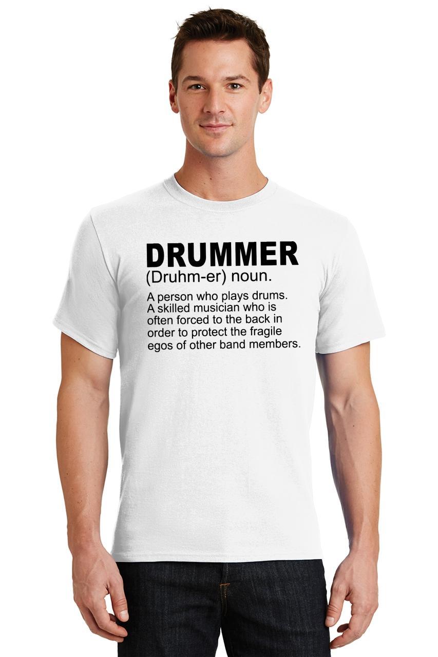 Mens-Drummer-A-Skilled-Musician-T-Shirt-Band miniatura 62