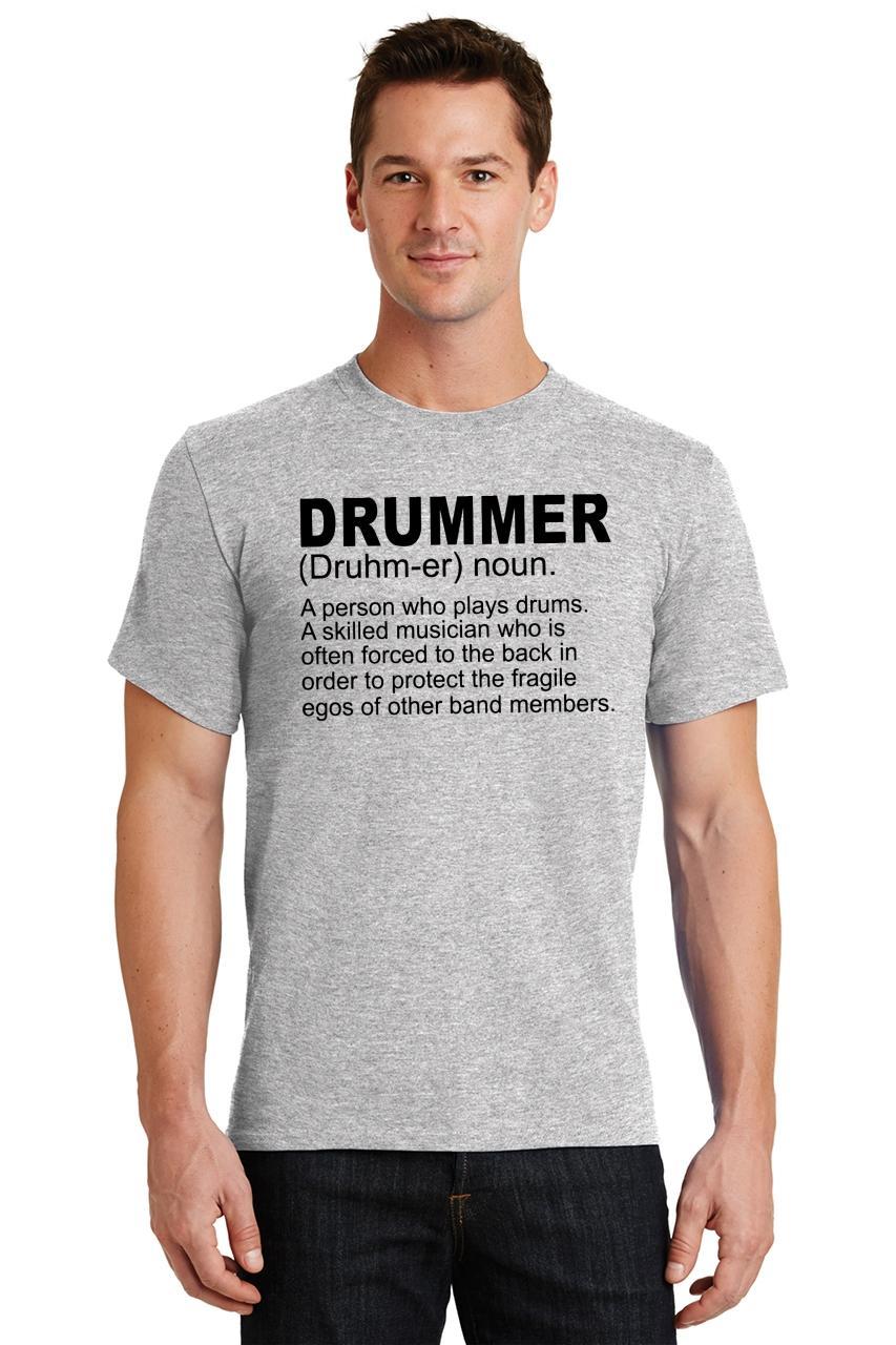 Mens-Drummer-A-Skilled-Musician-T-Shirt-Band miniatura 6