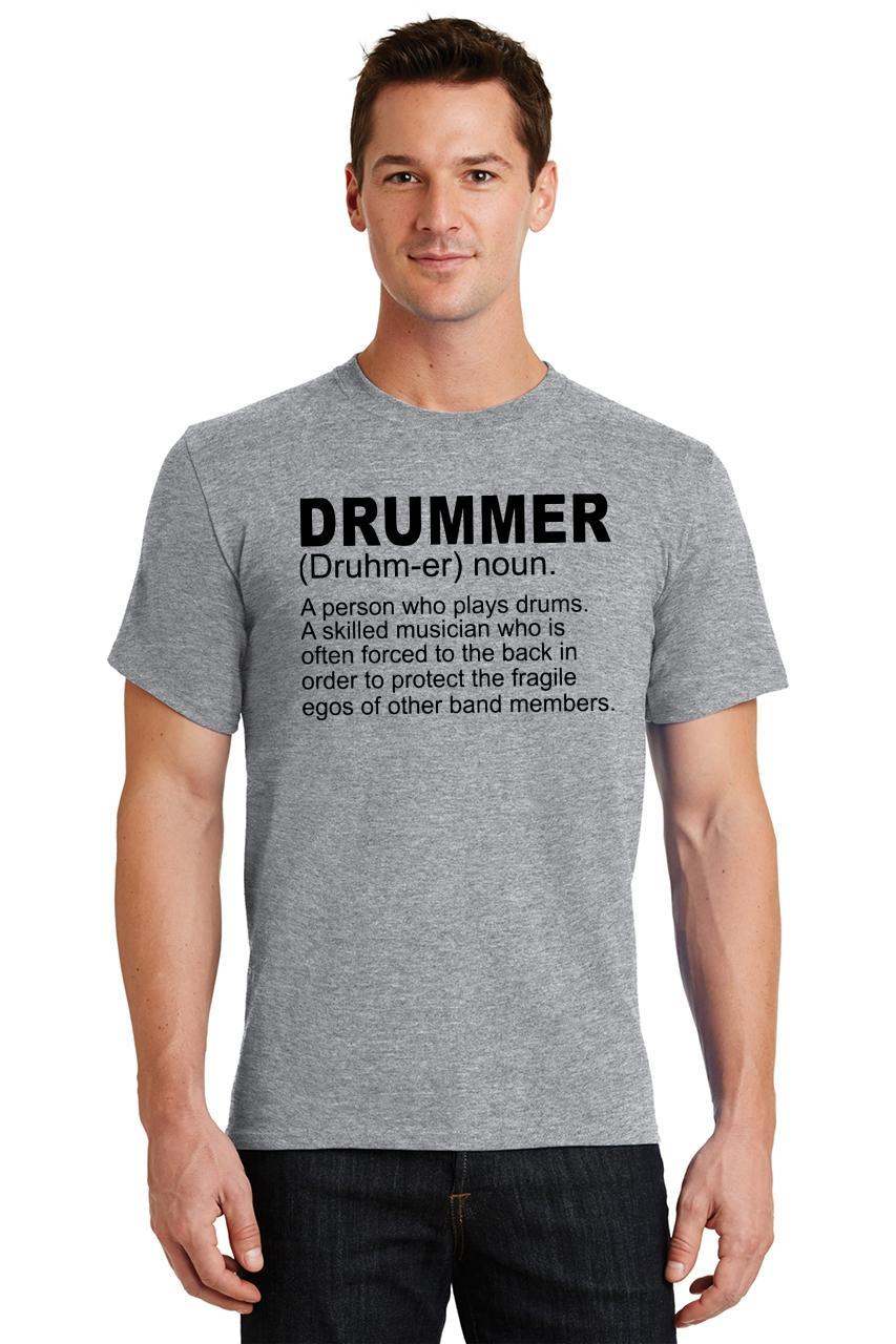 Mens-Drummer-A-Skilled-Musician-T-Shirt-Band miniatura 58