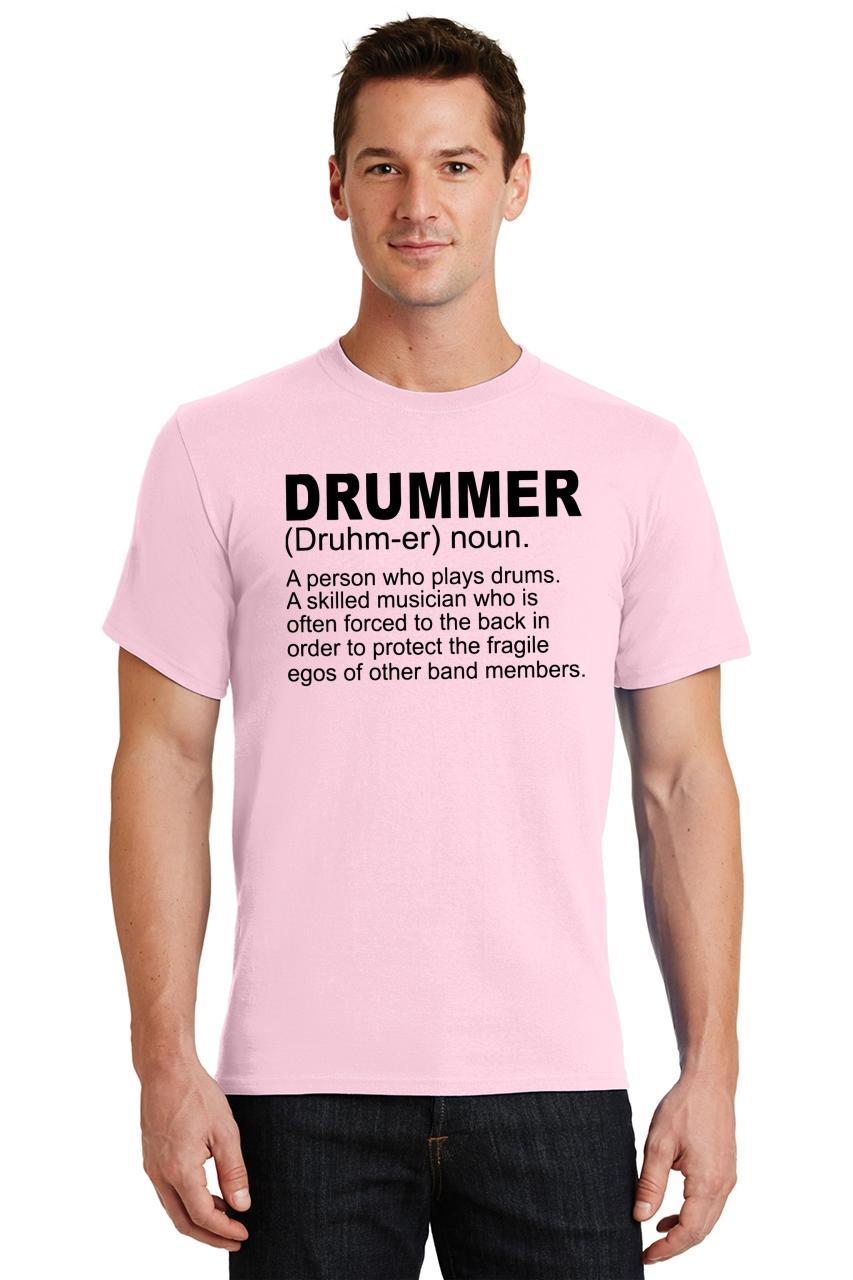 Mens-Drummer-A-Skilled-Musician-T-Shirt-Band miniatura 26