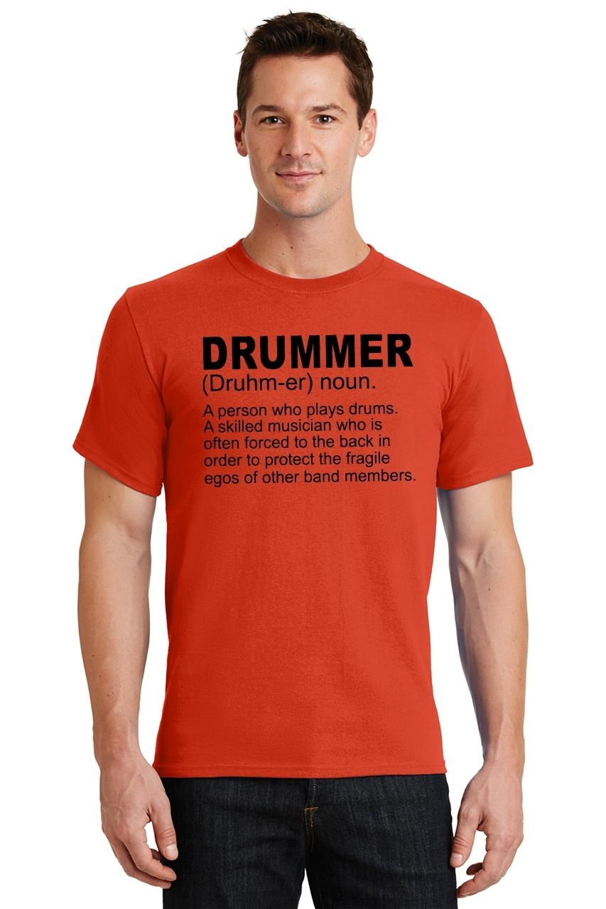 Mens-Drummer-A-Skilled-Musician-T-Shirt-Band miniatura 38