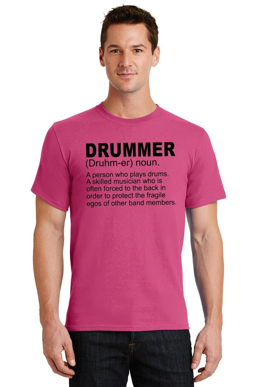 Mens-Drummer-A-Skilled-Musician-T-Shirt-Band miniatura 42