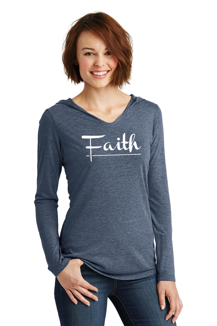 Ladies-Faith-Hoodie-Shirt-Religious-Christian-God-Shirt thumbnail 15