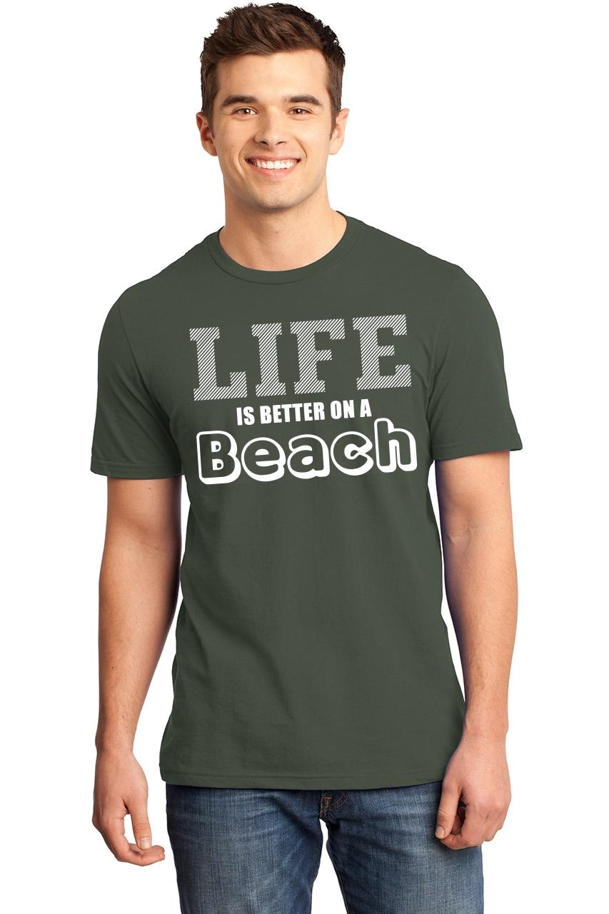 Life Is Better At The Beach T-Shirt Summer Vacation Tee